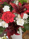 Christmas Belle Bouquet - Free UK delivery