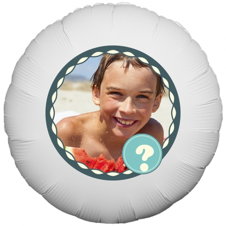 PRODUCT BALLOONS Birthday Age Male Balloon image