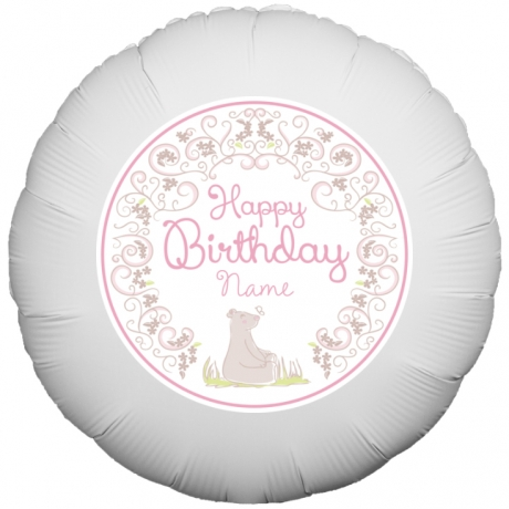 PRODUCT BALLOONS Birthday Bear Balloon image