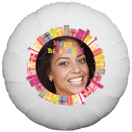 PRODUCT BALLOONS Happy Birthday Presents Balloon image