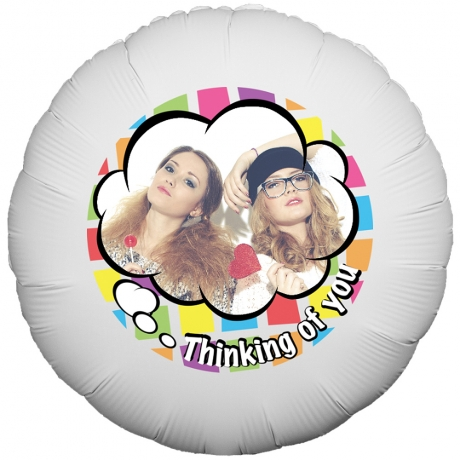PRODUCT BALLOONS Thinking of You Cloud Balloon image