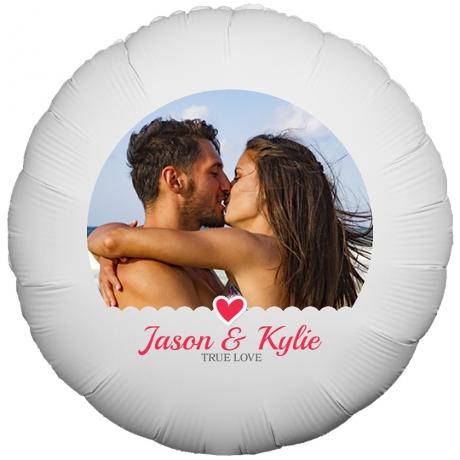 PRODUCT BALLOONS True Love Photo Balloon image