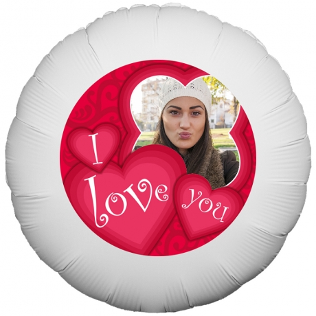 PRODUCT BALLOONS Valentines I Love You Balloon image