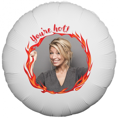 PRODUCT BALLOONS Valentines Youre Hot Balloon image