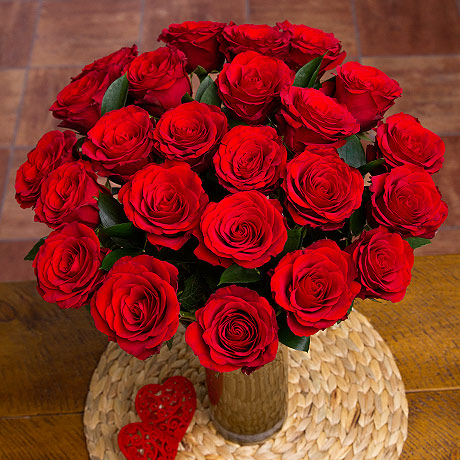 PRODUCT FLOWERS  Red Roses image