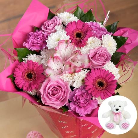 PRODUCT FLOWERS Baby Girl Gift image