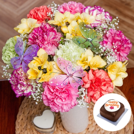 PRODUCT FLOWERS Butterfly Birthday Gift image