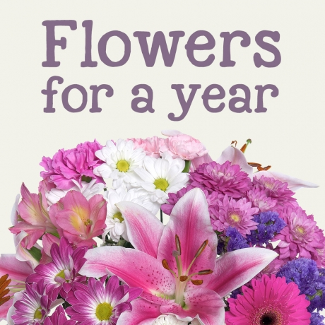 PRODUCT FLOWERS Flowers for a Year image