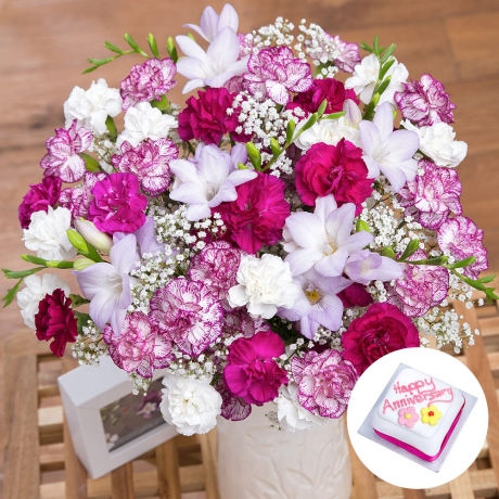 PRODUCT FLOWERS Happy Anniversary Gift image