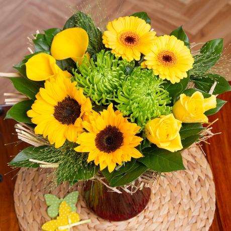 PRODUCT FLOWERS Sunbeam Posy image