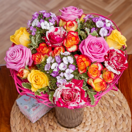 PRODUCT FLOWERS Sweet Summer Roses image