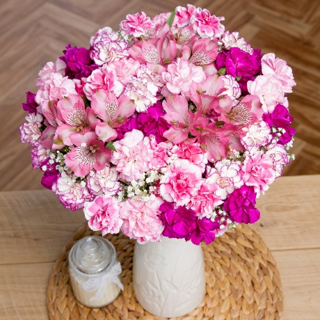 PRODUCT FLOWERS Pink Blossom Large image