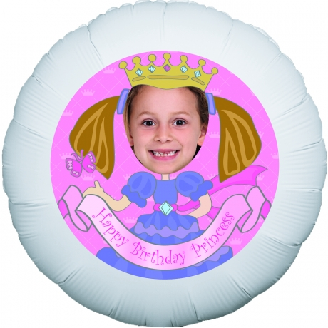 PRODUCT BALLOONS Lil Princess Personalised Balloon image