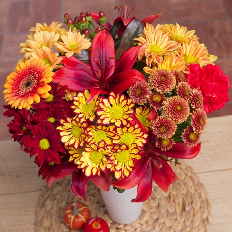 PRODUCT FLOWERS Auburn Fall XL image