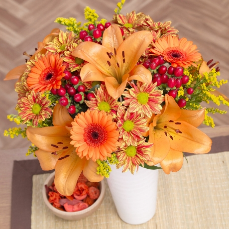 PRODUCT FLOWERS Autumn Glow XL image