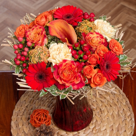 PRODUCT FLOWERS Harvest Festival image