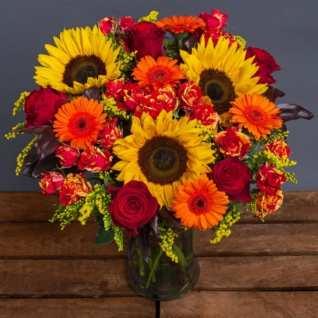 PRODUCT FLOWERS Luxury Amber Delight image
