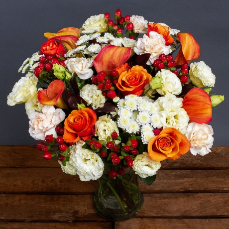 PRODUCT FLOWERS Luxury Scarlet Sunset image