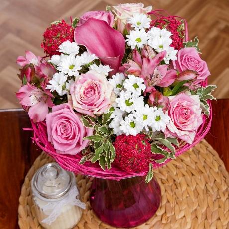 PRODUCT FLOWERS Pink Fondant image