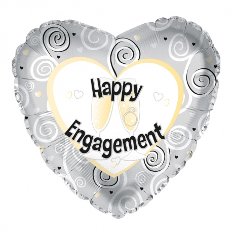 PRODUCT BALLOONS Happy Engagement Balloon image