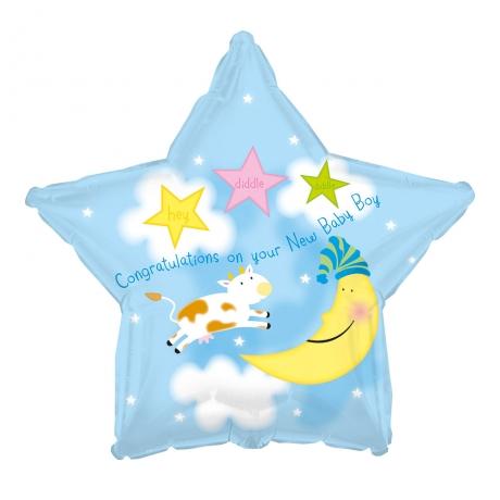 PRODUCT BALLOONS New Baby Boy Balloon image