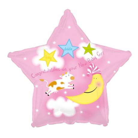 PRODUCT BALLOONS New Baby Girl Balloon image