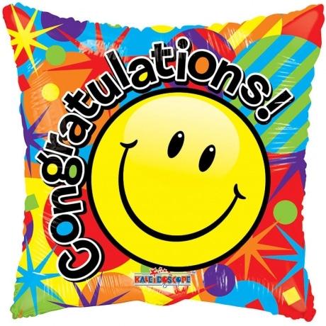 PRODUCT BALLOONS Congratulations Smile Balloon image