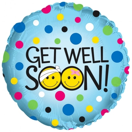 PRODUCT BALLOONS Get Well Smiles Balloon image