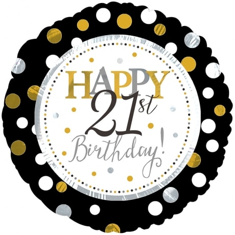 PRODUCT BALLOONS Happy st Birthday Balloon image