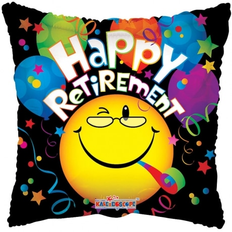 PRODUCT BALLOONS Happy Retirement Ballloon image