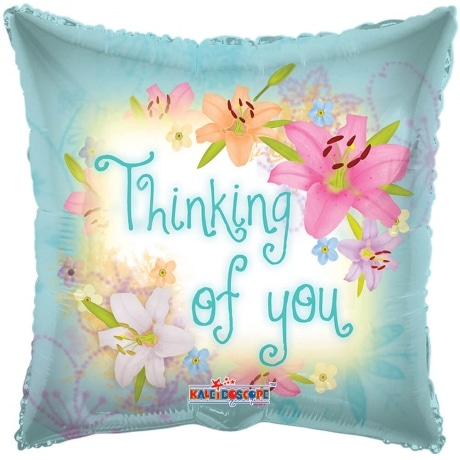 PRODUCT BALLOONS Thinking of You Flowers Balloon image