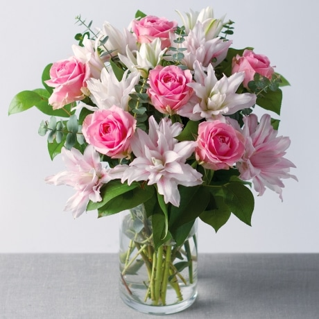 PRODUCT FLOWERS Rose and Lily Bouquet image
