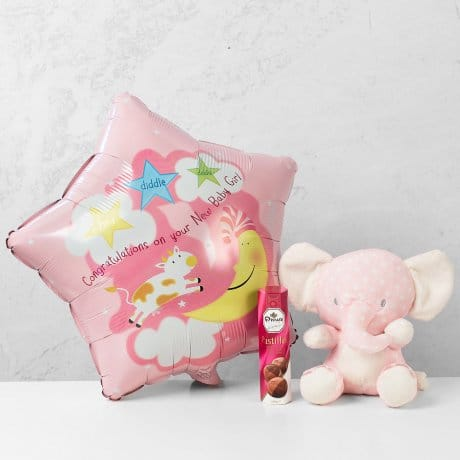PRODUCT BALLOONS Baby Girl Balloon Gift image