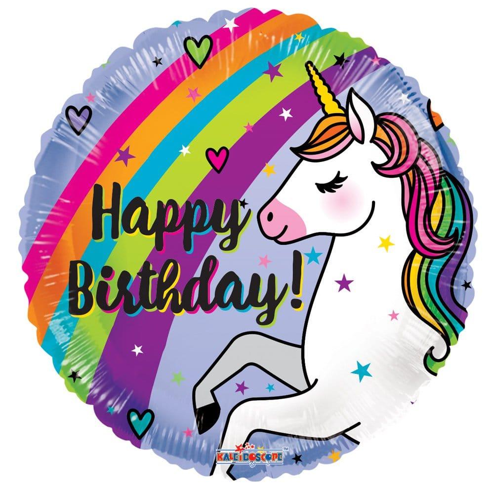 PRODUCT BALLOONS Birthday Unicorn Balloon image