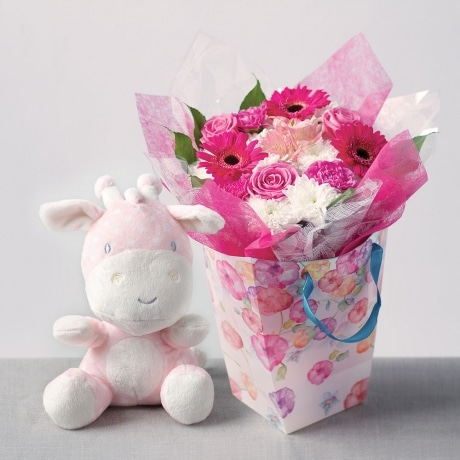 PRODUCT FLOWERS Baby Girl Gift Bag image