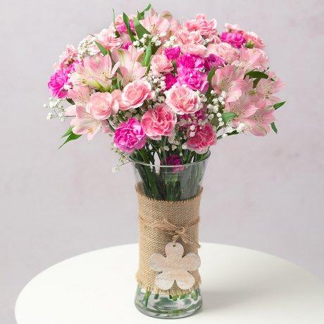 PRODUCT FLOWERS Pink Blush Large image
