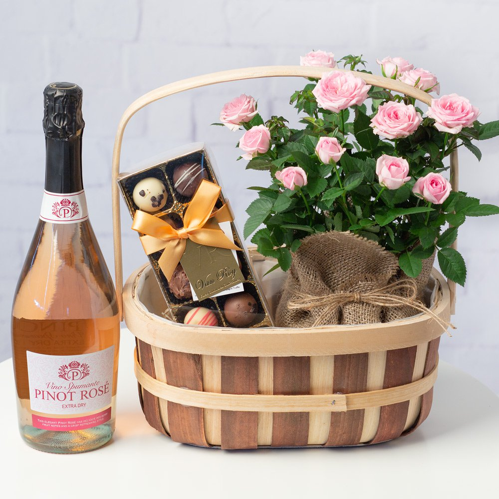 PRODUCT FLOWERS Prosecco and Rose Gift Set image
