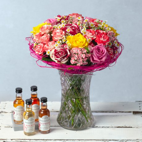 PRODUCT FLOWERS Sweet Rose Gin Gift image