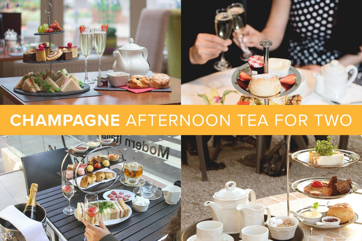 PRODUCT GIFTS Champagne Afternoon Tea for Two image
