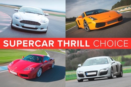 PRODUCT GIFTS Supercar Thrill Choice image