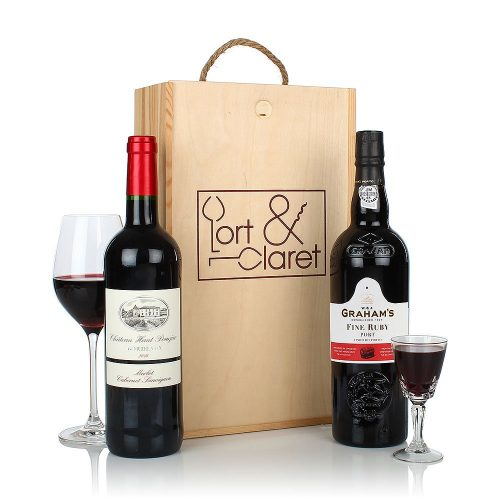PRODUCT HAMPERS Port and Claret Gift image