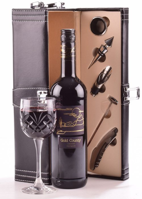 Red Wine Gift Case 1